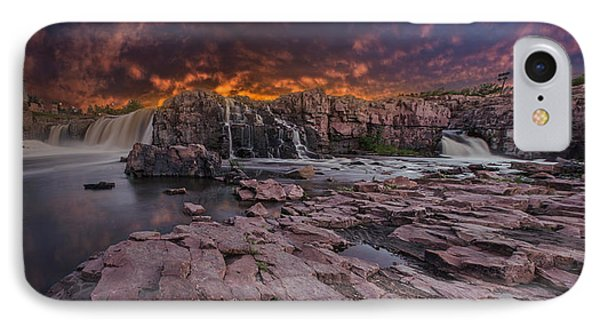 Sioux Falls IPhone Case by Aaron J Groen