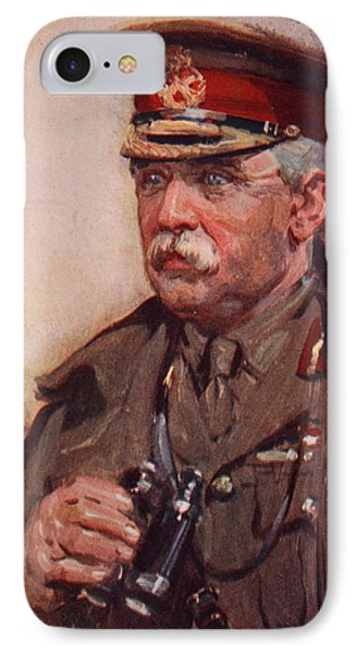 Sir John French IPhone Case by Cyrus Cuneo