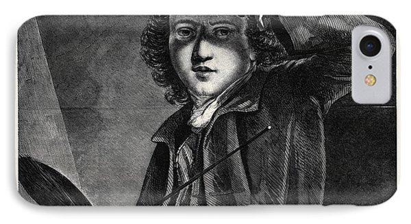 Sir Joshua Reynolds IPhone Case by Reynolds, Sir Joshua (1723-92), English