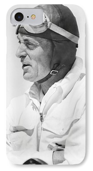 Sir Malcolm Campbell Portrait IPhone Case by Underwood Archives
