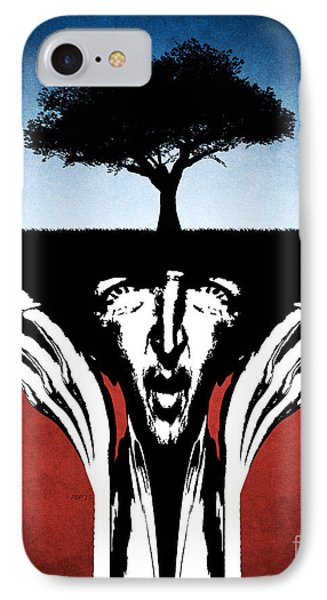 IPhone Case featuring the digital art Sir Real by Phil Perkins