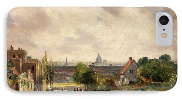 Sir Richard Steeles Cottage, Hampstead A View Of London IPhone Case