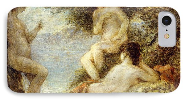 Sirens IPhone Case by Ignace Henri Jean Fantin-Latour