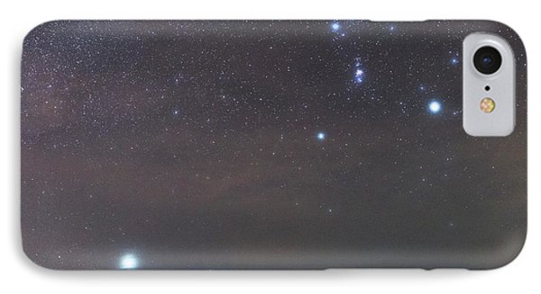 Sirius Rising With Orion IPhone Case by Tommy Eliassen