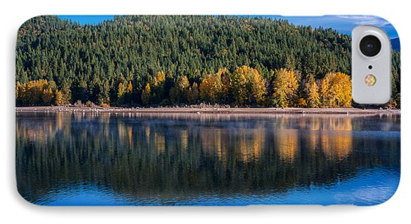 Siskiyou Lake Shoreline IPhone Case by Greg Nyquist