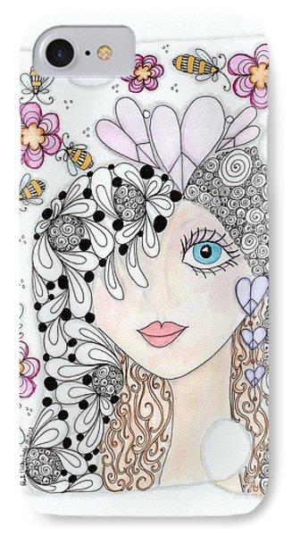 Sissy Phone Case by Paula Dickerhoff