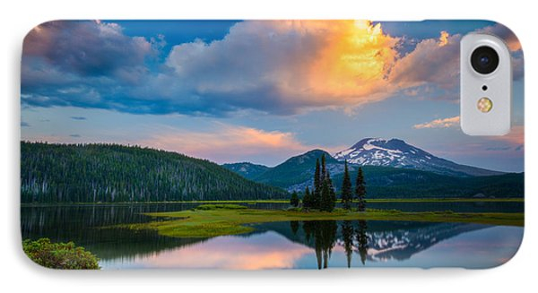 Sister Sunrise At Sparks Lake IPhone Case by Chris McKenna