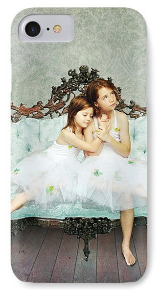 Sisters IPhone Case by Linda Lees