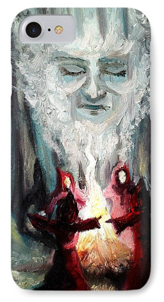 Sisters Of The Night IPhone Case by Shana Rowe Jackson