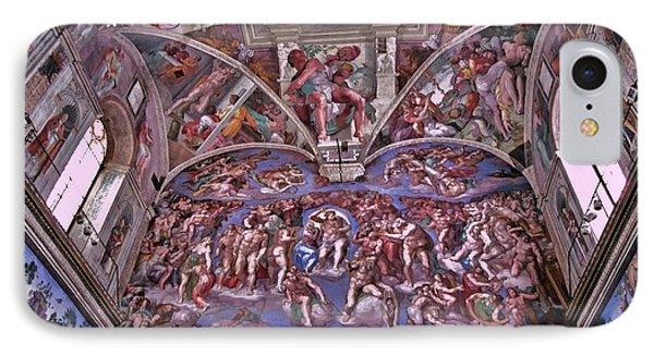 IPhone Case featuring the photograph Sistine Chapel by Allen Beatty