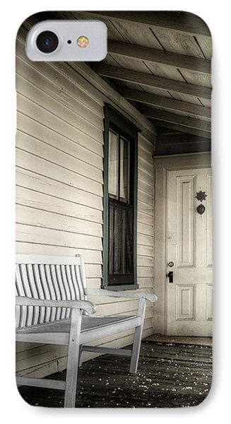 Sit Awhile Phone Case by Joan Carroll