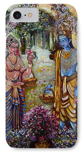 Sita Ram IPhone Case by Harsh Malik