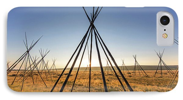 Site Of Chief Joseph Of The Nez Perce IPhone Case by Chuck Haney