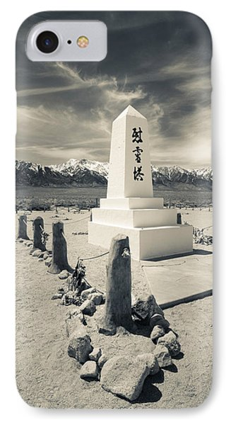 Site Of World War Two-era Internment IPhone Case by Panoramic Images