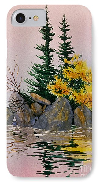 IPhone Case featuring the painting Sitka Isle by Teresa Ascone