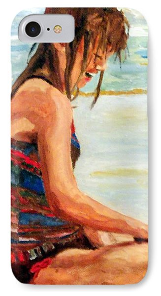 Sit'n In The Surf IPhone Case by Jim Phillips