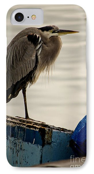 Sittin' On The Dock Of The Bay IPhone Case by Donna Greene