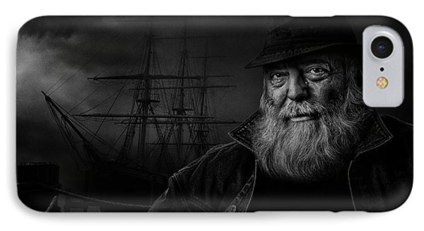 Sitting At The Dock Of The Bay IPhone Case