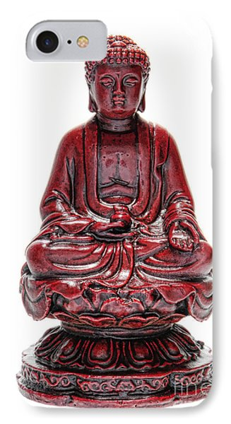 Sitting Buddha  Phone Case by Olivier Le Queinec