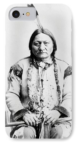 Sitting Bull Phone Case by War Is Hell Store