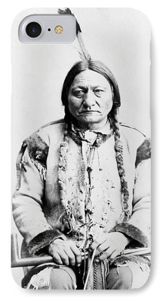 Sitting Bull IPhone Case by War Is Hell Store