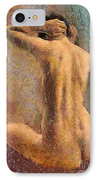 Sitting Nude 3 Phone Case by Dragica  Micki Fortuna