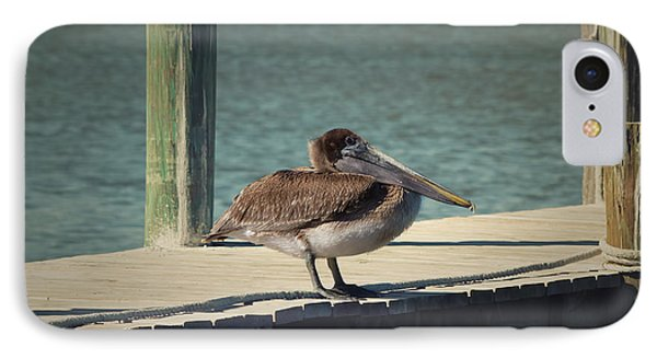Sitting On The Dock Of The Bay Phone Case by Kim Hojnacki