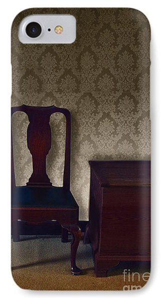 Sitting Room At Dusk Phone Case by Margie Hurwich