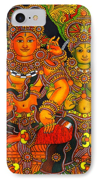 Siva And Parvathy IPhone Case by Arun Sivaprasad