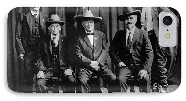 Six Famous Frontiersmen IPhone Case by Underwood Archives