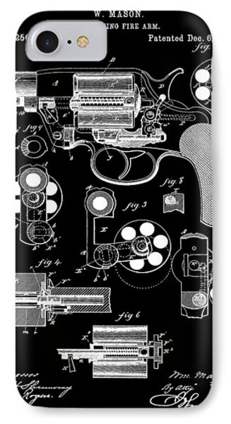 Six Shooter Patent IPhone Case