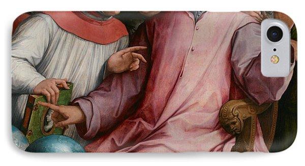 Six Tuscan Poets IPhone Case by Giorgio Vasari