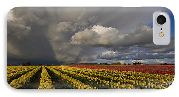 Skagit Valley Storm IPhone 7 Case by Mike Reid