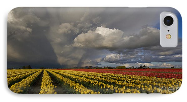 Skagit Valley Storm IPhone Case by Mike Reid