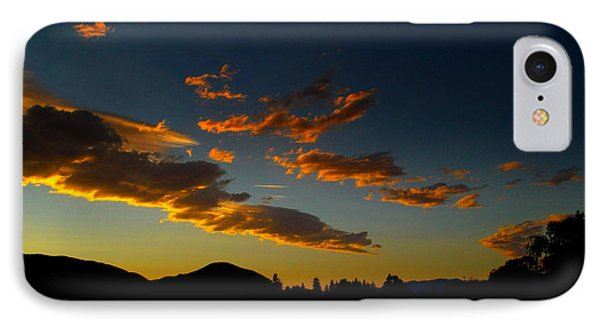 Skaha Lake Sunset 02 July02/2013 IPhone Case by Guy Hoffman