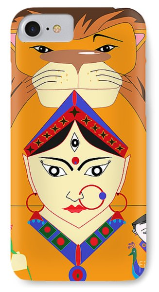 Skandmata IPhone Case by Pratyasha Nithin