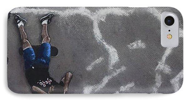 Skater Boys Phone Case by Cristel Mol-Dellepoort