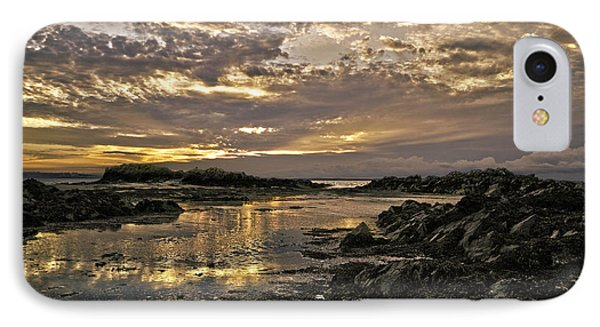 Skerries Sunset IPhone Case by Martina Fagan
