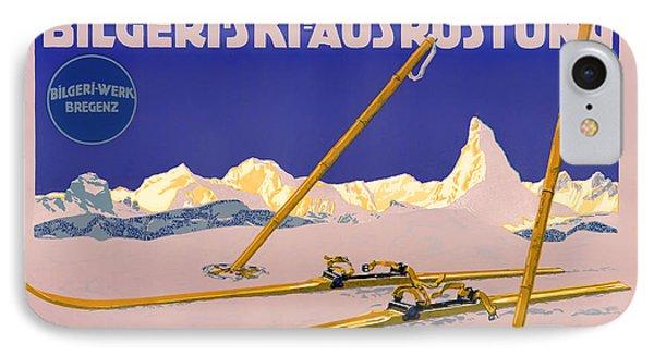 Ski Austria 1910 IPhone Case