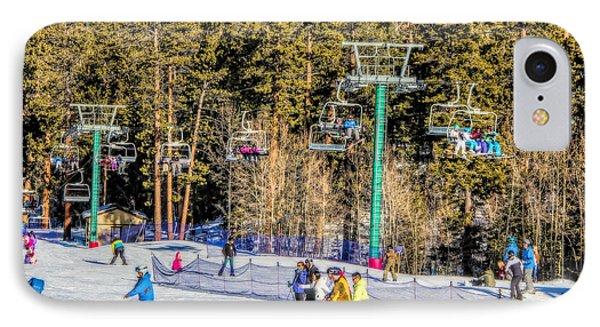Ski Day Phone Case by Tammy Espino