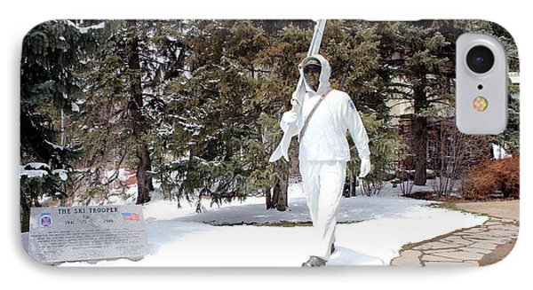 Ski Trooper IPhone Case by Fiona Kennard
