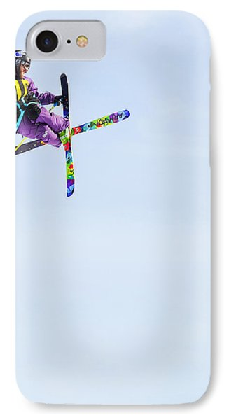 Ski X IPhone Case by Theresa Tahara