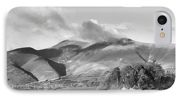 Skiddaw And Friars Crag Mountainscape IPhone Case by Linsey Williams