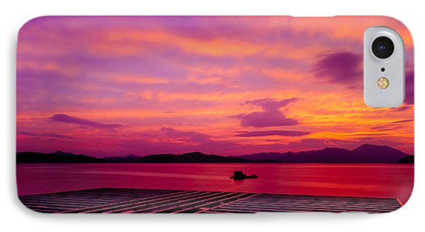 Skies Ablaze - Two IPhone Case