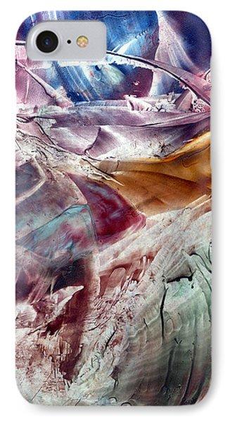 Skies Of Nibiru Crossing The Galactic Equator  IPhone Case by Cristina Handrabur