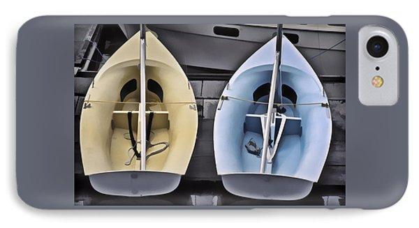 Skiffs IPhone Case by Richard Farrington