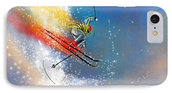 Skijumping 01 IPhone Case