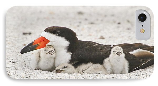Skimmer Family Cuddle IPhone Case