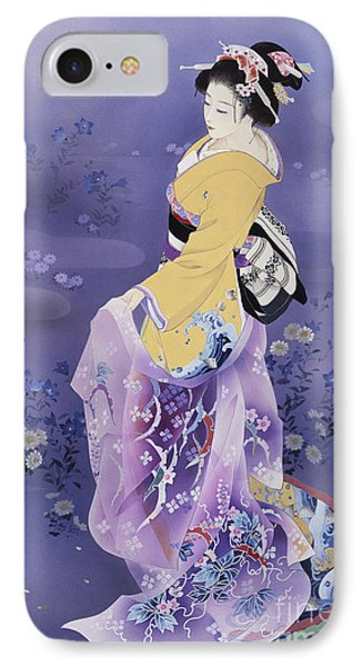 Skiyu Purple Robe IPhone Case