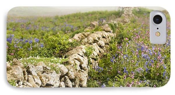 Skomer Wildflowers Phone Case by Anne Gilbert